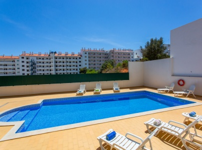 *NEW* Lovely 1 bed apartment in Albufeira with pool view